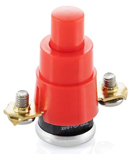 Poppstar Thermoschutzschalter für Kabeltrommel (1-polig, 250V, 16A, 56°), Ersatzteil als Sicherung gegen Überhitzung