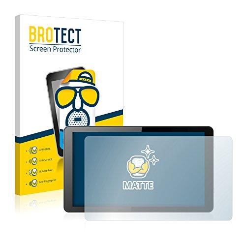BROTECT 2X Entspiegelungs-Schutzfolie kompatibel mit i.onik Global Tab L1001 Bildschirmschutz-Folie Matt, Anti-Reflex, Anti-Fingerprint