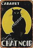 Cabaret Le Chat Noir Blechschild Retro Wanddekoration Bar