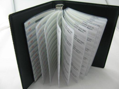 0201 SMD SMT Chip Capacitor Assortment Kit 40 Value Total 4000pcs Sample Folder