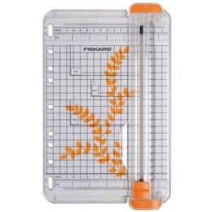 Fiskars Papierschneidemaschine SureCut tragbar 14,5cm