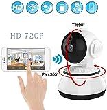ZT Cámara de vigilancia inalámbrica de la cámara casera Wifii visión Nocturna de HD Smart Monitor