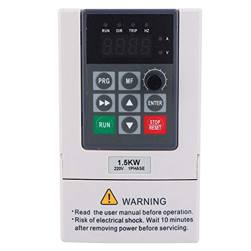 VFD, convertidor de frecuencia sensible de 1.5KW 220V para control industrial
