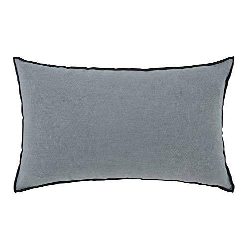 Madura–Funda de almohada Carlina–verde y pedal negro–50x 75cm