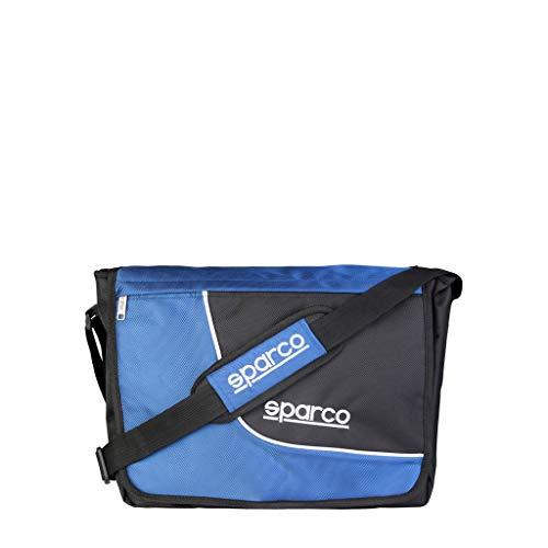 Sparco SL_Grigio_B - Borsa da uomo, colore: Blu
