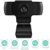 joupugi 1080p USB Webcam with Microphone