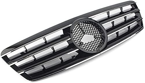 Rejillas frontales de radiador para Mercedes Bens C-Class W203 C230 C240 C320 C32 C220 2000-2006, Embellecedor de Rejilla Compatible Autopartes