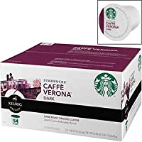 スターバックス  カフェヴェローナK-カップ コーヒーダーク  54個 並行輸入品