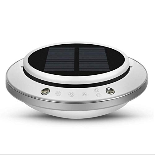 S&RL Deodorant Artifact Air Purifier Air and Activated Carbon Filter Solar USB Operation Cold Catalyst Negative Ion Purifier Reduce Odors Dust Smoke for Car and Home