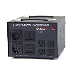 NOTE: This converter is designed only for European/Asian 220V (Single Phase) , it will not Work with American 220 (Dual Phase) Up to 5000 Watt Maximum Capacity, Heavy Duty Step Up/Down Voltage Converter Transformer (110/120V  220/240V) Circuit Breake...