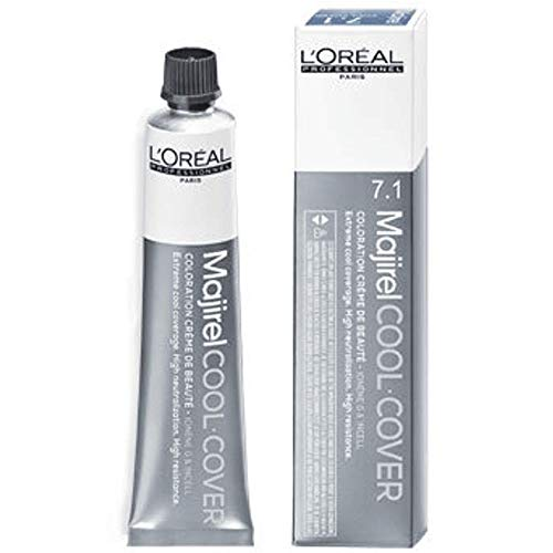 L'Oréal Professionnel Majirel Cool Cover - 9,11 Sehr helles blond tiefes asch, Tube, 50 ml