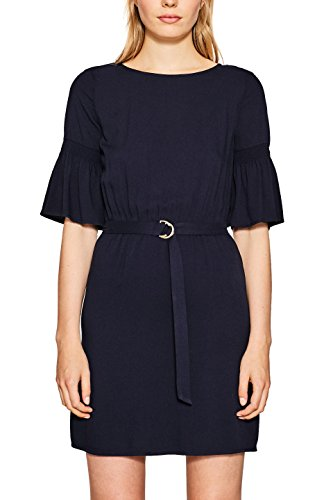 ESPRIT Damen 087EE1E010 Kleid, 400/NAVY, 42