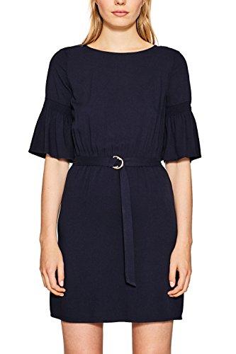 ESPRIT Damen 087EE1E010 Kleid, 400/NAVY, 38