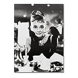 LaMAGLIERIA Poster Audrey Hepburn - Posterdruck glänzend