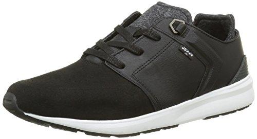 Levi's Herren Black Tab Runner Sneakers, Schwarz (Noir Regular Black), 40 EU