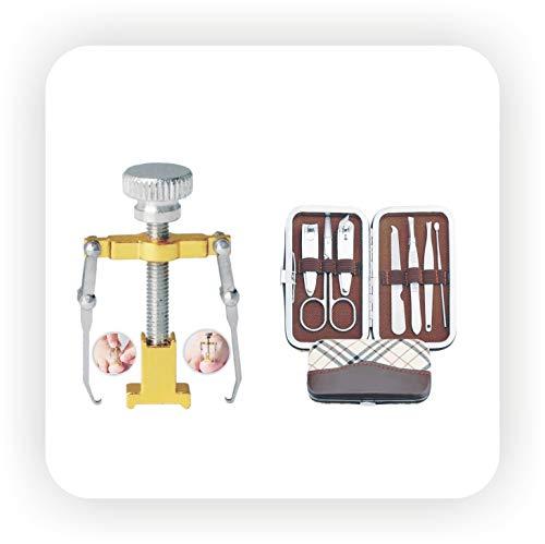 jeoga ® Multicolour Ingrown Toe Nail Correction Tools Corrector for Pedicure - Combo 8 Pieces