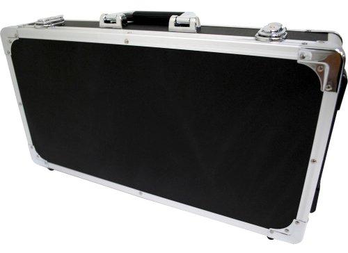 KC エフェクターケース EC-60/BK ブラック (内寸 495 x 250 x 65+20mm)