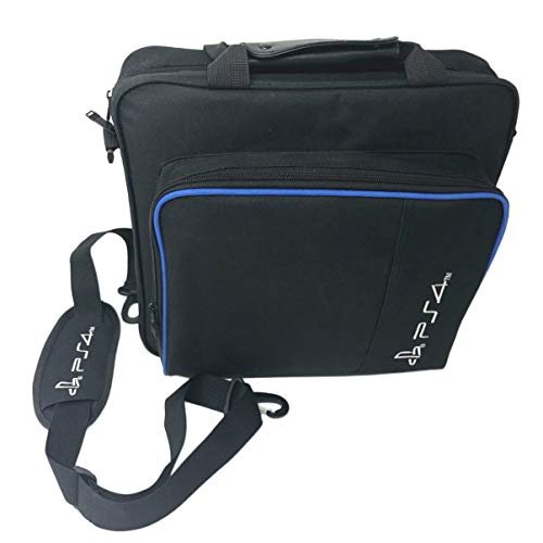 JullyeleDEgant Game Console Storage Bag Shock Proof Waterproof Travel Handbag Shoulder Bag for PS4 Pro Console Accessories Carry Bag