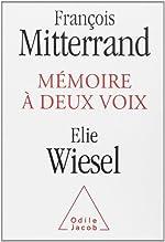 Mémoires à deux voix de François Mitterrand