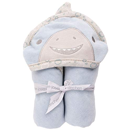 Stephen Joseph Hooded Bath Towel, Shark