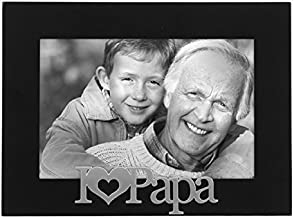 Malden I Love Papa Expressions Frame, 4 by 6-Inch