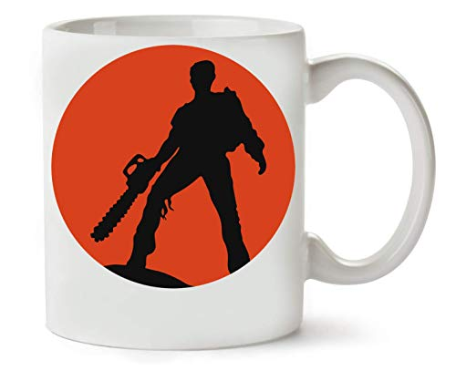 BakoIsland Ash Vs The Evil Dead Artwork Taza para Café y Té