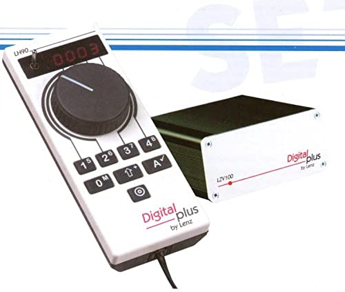 Lenz 60090 - SET90 Einsteigerset enthalten die LZV100, eine Kombination aus Verst er und Zentral.