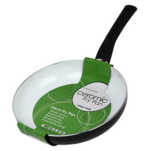 Easy-Cook - Sartén de cerámica y Aluminio (20 cm), 24 cm