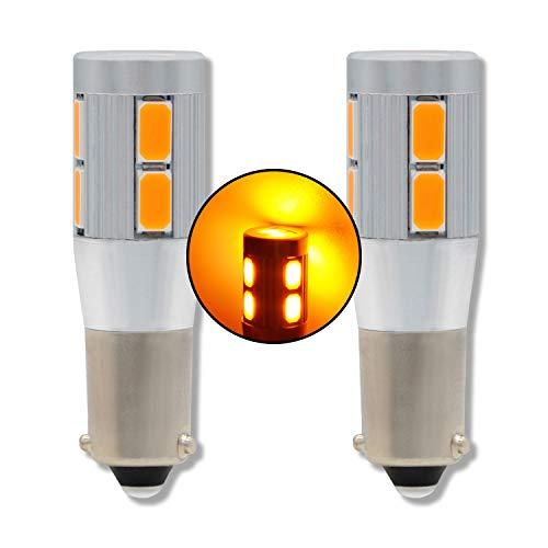 MCK Auto - Remplacement pour H6W LED CanBus Ensemble d'ampoules orange très clair et sans erreur compatible avec E82 E88 XF