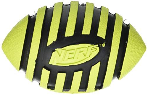 Nerf Dog Squeak Espiral Football: diámetro 12,7cm Colores Surtidos