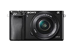Sony Alpha ILCE 6000L 24.3 MP Mirrorless Camera with 16-50 mm (APS-C Sensor, Fast Auto Focus, Eye AF, Light Weight) - Black