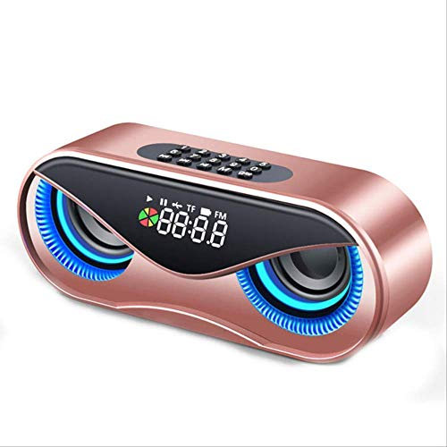 Check Out This Owl Bluetooth Speaker Double Speaker Alarm Clock Mini Stereo Speaker Wireless Stereo ...