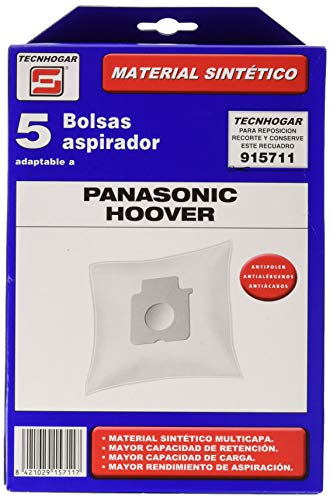 ERSA 915711 Bolsa aspirador, Blanco