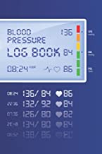 Blood Pressure Log Book: Track, Record & Monitor Blood Pressure at Home: Blood Pressure Journal Book - Clear and Simple Diary for Daily Blood Pressure Readings