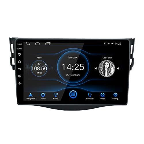 Ezonetronics 2DIN Android 10.1 Autoradio Stereo 9 pollici per Toyota RAV4 2007-2012 Touch screen Unità principale Navigazione GPS WIFI Bluetooth AM/FM Audio SWC USB Media Player 2G RAM + 16G ROM