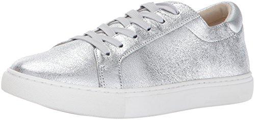 Kenneth Cole New York Women's Kam Fashion Sneaker, Silver, 8 M US