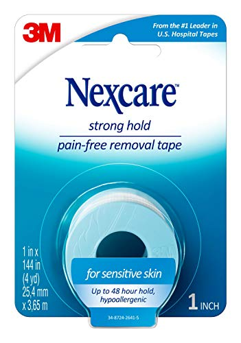 Price comparison product image Nexcare Sensitive Skin Low Trauma Tape 1 in x 144 in 1 ea