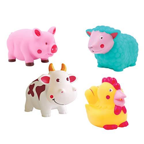 Giocattoli per bagnetto, motivo: animali della fattoria LUDI 2222, multicolore