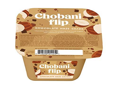 Chobani Flip Chocolate Haze Craze Greek Yogurt, 5.3 Ounce -- 12 per case.