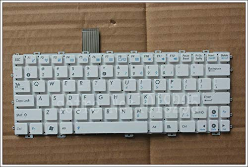 Laptop keyboard, English for ASUS EEEPC EEE PC 1015 1015PX 1011PX 1015P 1015PE 1015PN 1015PED 1015PEM 1015TX US laptop keyboard white.