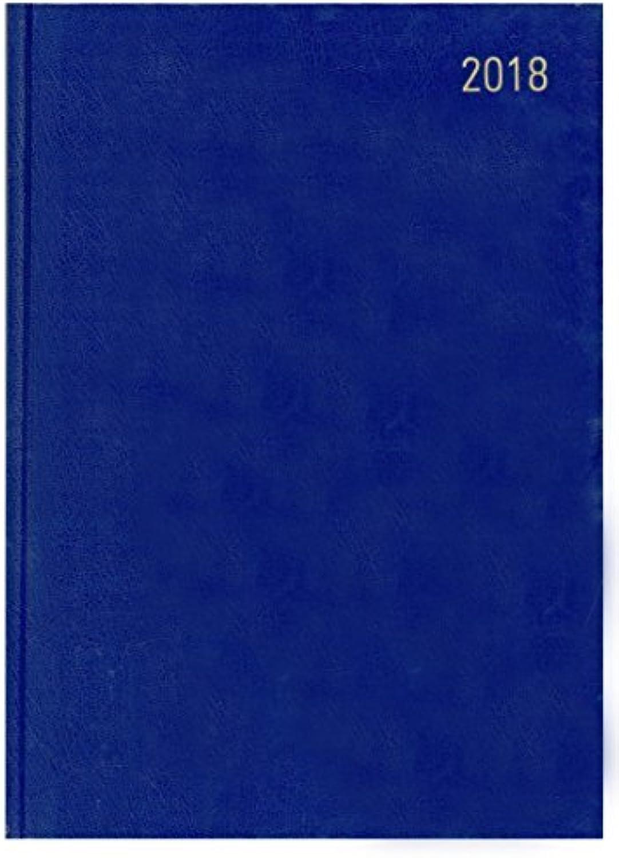 Terminplaner für 2018, A4, Tag Seite, Blau Blau Blau B06XVZKBFM | Erste Kunden Eine Vollständige Palette Von Spezifikationen  bda08f