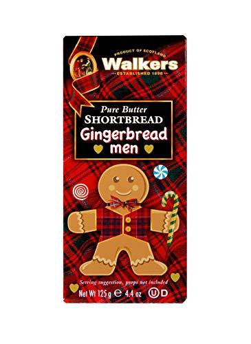 Walkers Shortbread Gingerbread Men, 8 Gingerbread Men Cookies, 4oz