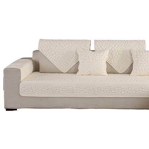 YUTJK Salón de sofá, Fundas de Asiento de sofá de Tela para...