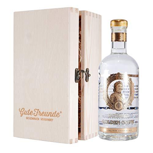 Ladoga Wodka Imperial Golden Snow mit Geschenk-HK