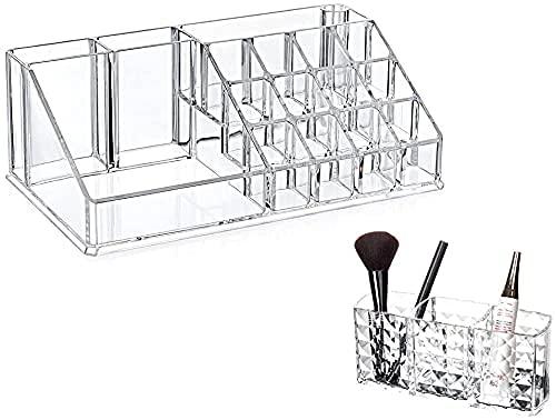 erddcbb Joyero Caja de Almacenamiento de cosméticos para Mujeres Organizador de cosméticos para Almacenamiento de Maquillaje de Esmalte de uñas (D)