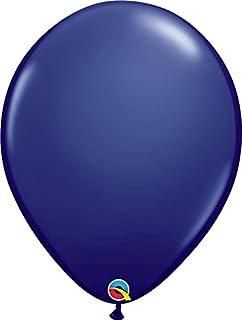 Qualatex 57125 5 Inch Latex Balloons - Navy Blue (100 Pack)