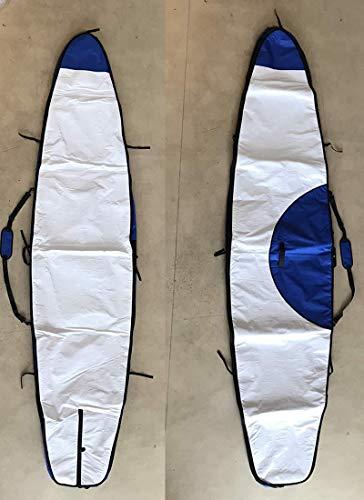 ノーロゴ SUPレースボード ボードバッグ [WHITE/BLUE] 12'6