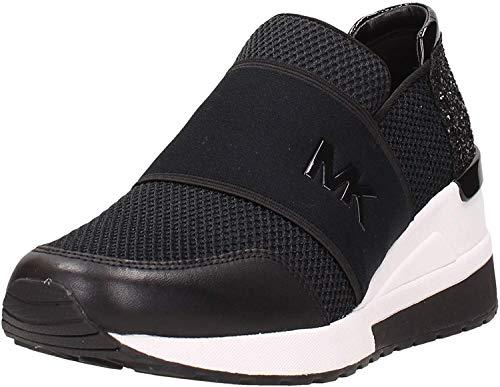 Michael Kors Felix Trainer Mesh Damen Sneaker EU 40/US 9 Schwarz