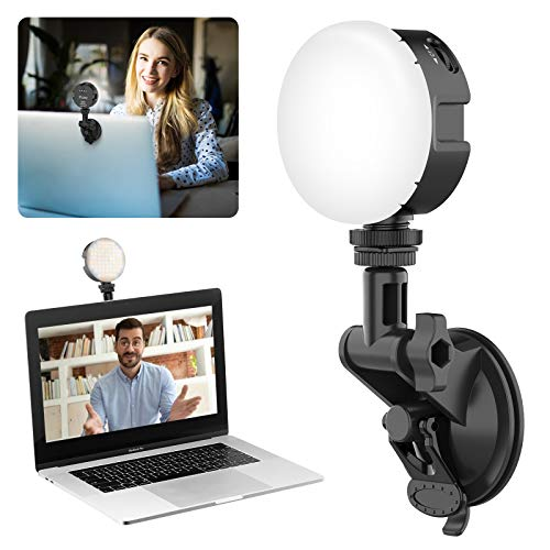 Ulanzi VIJIM Videokonferenz LED Lampe Kit 2000 mAh Akku für Laptop, MacBook, Computer, PC, Desktop für Live-Streaming Videoanrufe Online Unterricht, Gaming Videoleuchte Videoconference Light