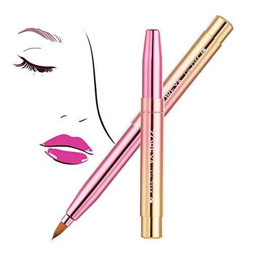 Tragbare Lippenpinsel - Einziehbare Lippenbürste Schminken Make-Up Reise Bürste Werkzeug